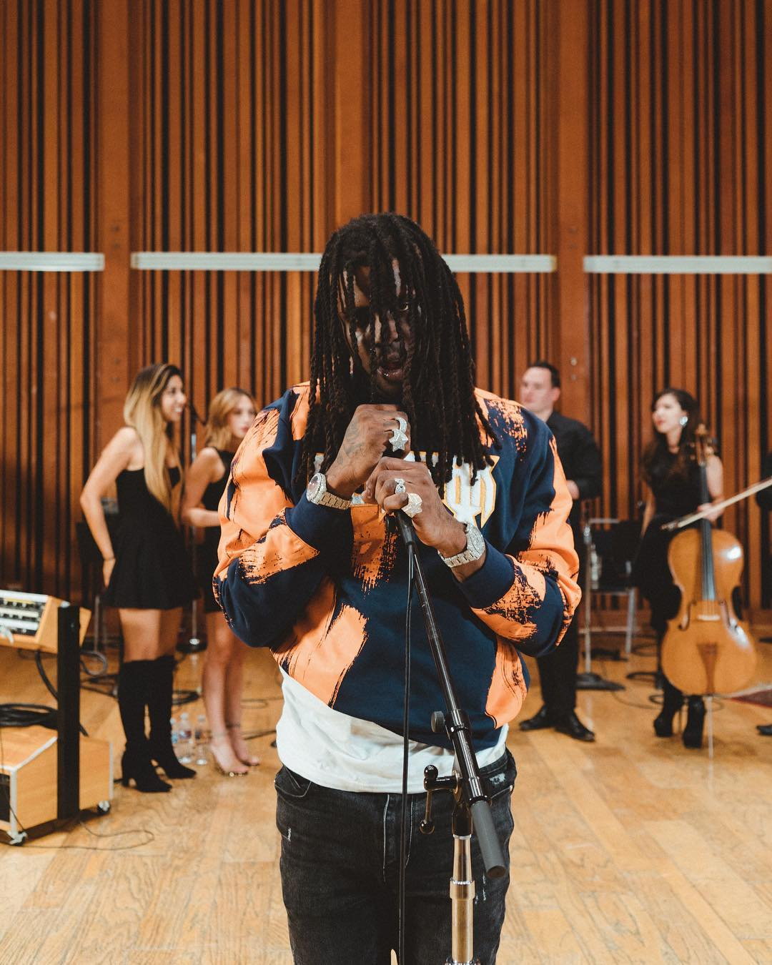 Chief Keef Performs with Live Orchestra