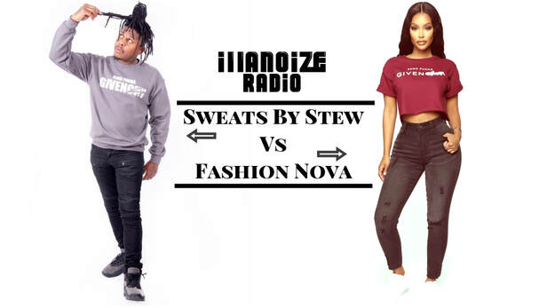 Fashion Nova steals Sweats By Stew design