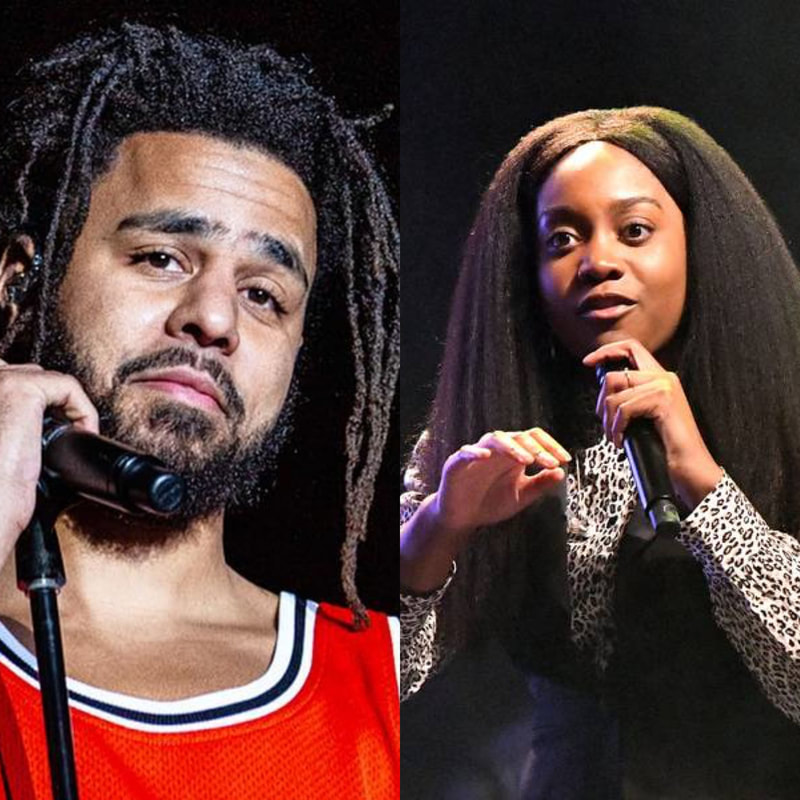Noname and J.Cole exchange a message between their two tracks this week.