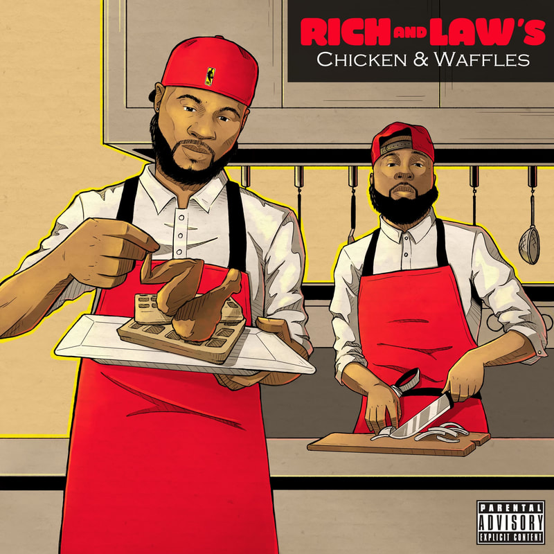 [Premiere] Richie Wes and Law Beatz Connect For Rich and Law's Chicken & Waffles