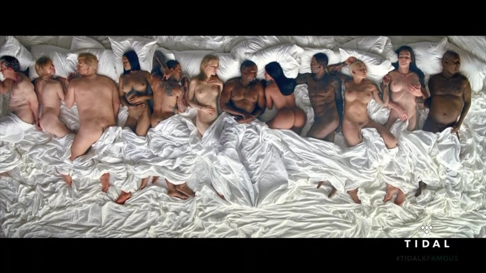 Kanye West Famous Video